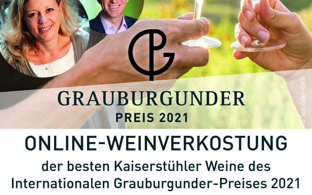 Grauburgunder online Weinprobe